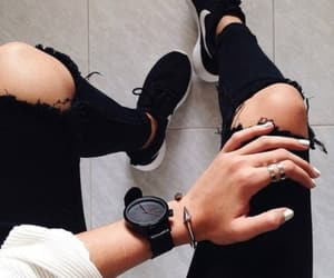 black, watch, and cool image