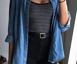 nice, outfit, and stripes image
