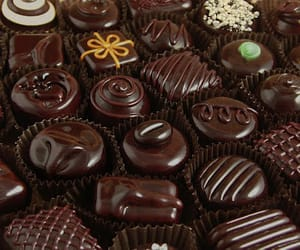 chocolate, delicious, and dark image