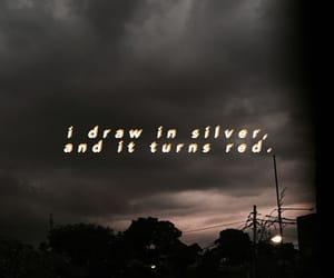 broke, dark, and sky image
