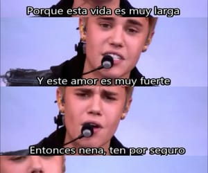 frases, justin, and tumblr image