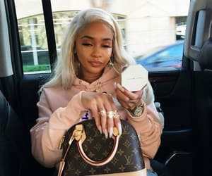 saweetie, fashion, and girl image