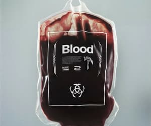 blood, grunge, and vampire image