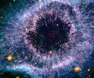 universe, stars, and nebula image