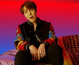 bts, jhope, and gif image