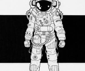 art, astronaut, and cool image