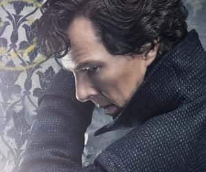 curly hair, hq, and sherlock image