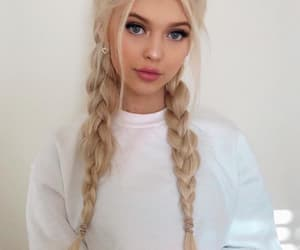 loren, hair, and loren gray image