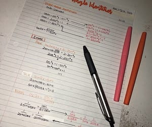 math, notes, and study image