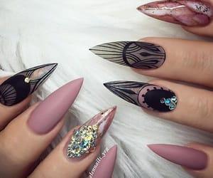 art, cool, and nails image