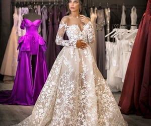 woman, beautiful, and dress image
