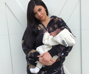 kylie jenner, baby, and storm image