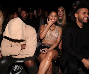 nicki minaj, kylie jenner, and kanye west image