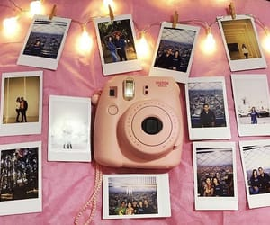 instax, photograph, and pink image