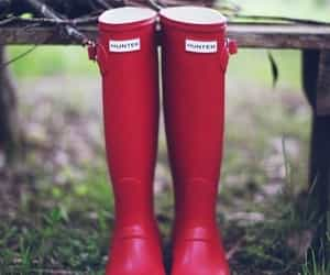 hunters, style, and hunterboots image