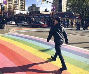 rainbow, gay, and lgbt image