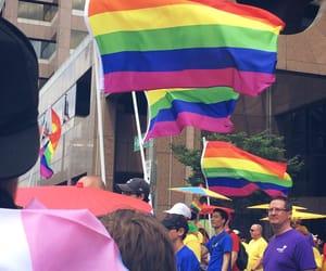 gay, pride, and rainbow image