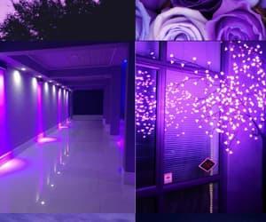 aesthetic, papel de parede, and purple image
