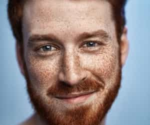 freckles, redhead, and boy image