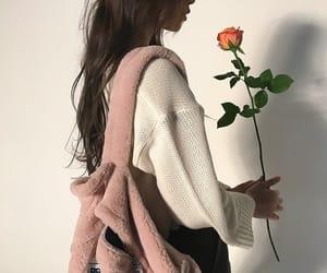 fashion, rose, and aesthetic image