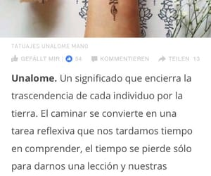 tattoo, tatuaje, and unalome image