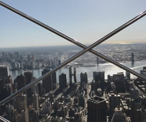 empire state, nyc, and new york image