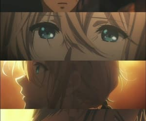 anime, love, and violet evergarden image