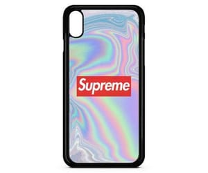 case, iphone, and supreme image