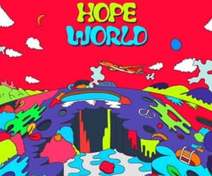 jhope, bts, and hope world image