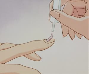 gif, anime, and nails image