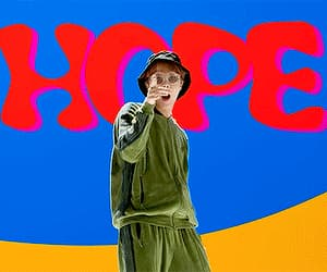 jhope, bts, and gif image
