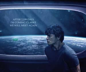 art, the hundred, and bellamy blake image