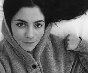 black and white and marina and the diamonds image