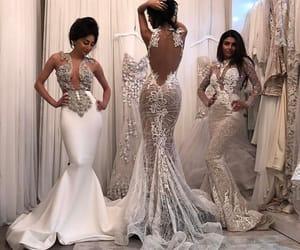 wedding, dress, and fashion image