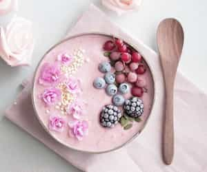berries, breakfast, and food image