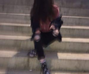 bad girl, black girl, and blur image