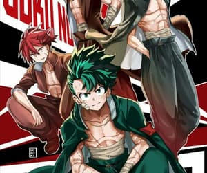 anime, manga, and midoriya izuku image