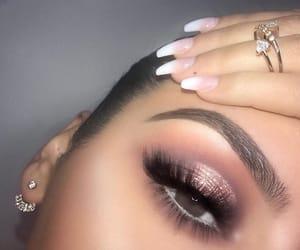 beautiful, eyes, and brown eyes image