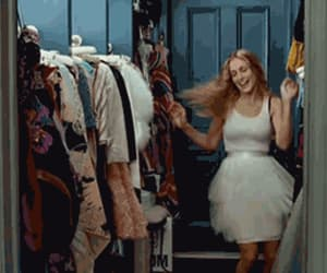 gif, satc, and sex and the city image