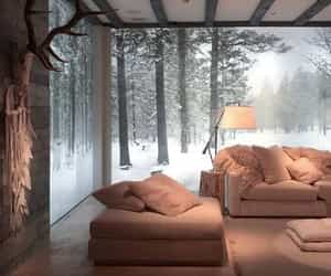 interior, home, and winter image