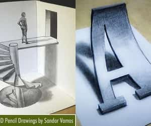 drawings, pencil drawings, and 3d pencil drawings image