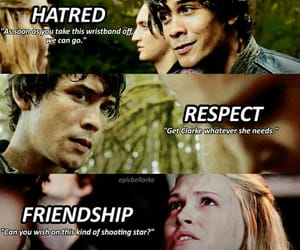 bellamy, hatred, and the 100 image