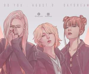 daydream, kpop, and art drawing image