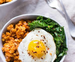 brunch, egg, and healthy image