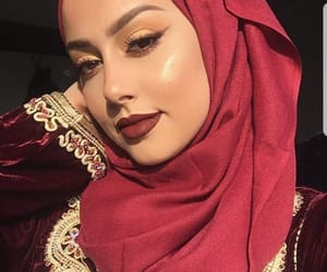 arab, arabic, and beauty image