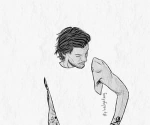 drawing, tomlinson, and louis image