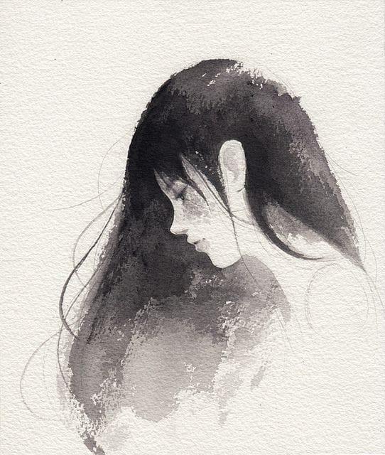 article, poem, and sad image