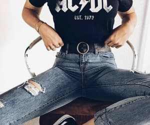 ac dc, beauty, and cool image
