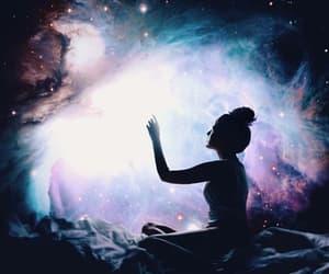 dreams, glaxy, and fantasy image