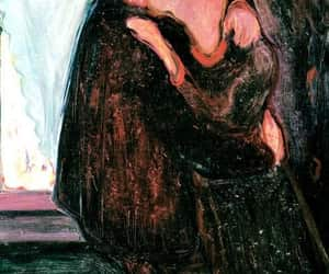 edvard munch, wallpaper, and painting image